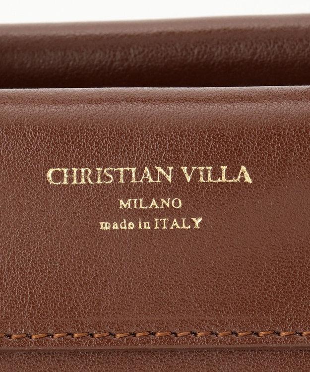 自由区 【マガジン掲載】イタリア CHRISTIAN VILLA レザーバッグ(検索番号N76)