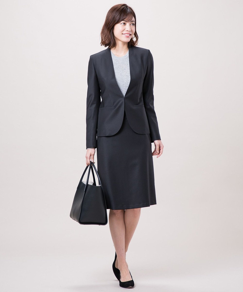 ICB 【VERY3月号掲載】Feather トート バッグ ブラック系