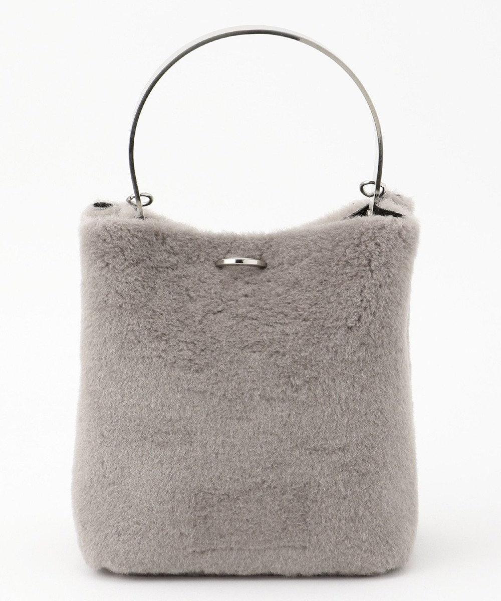 ICB Wool Mouton バッグ グレー系
