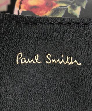 Paul Smith 【50th Anniversary】ローズプリント スモールバスケット ブラック系