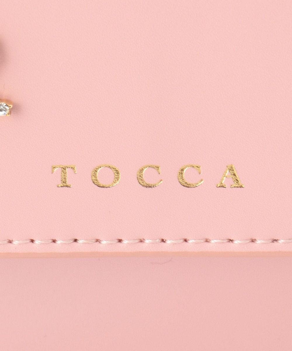 TOCCA BAMBINI 【KIDS】リボンフラワービジュードレスバッグ ローズ系