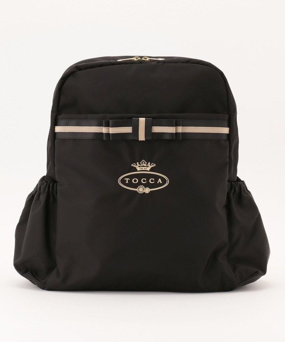 TOCCA BAMBINI 【WEB限定/MOM】  エンブロイダリーロゴシリーズ2WAY マザーズバッグ ブラック系