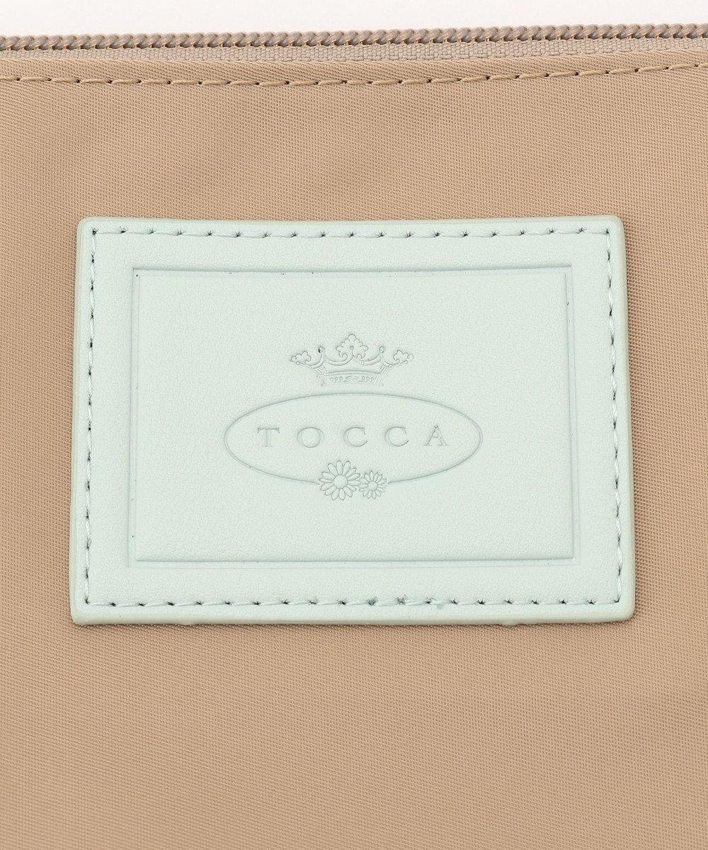 TOCCA BAMBINI 【WEB限定/MOM】  エンブロイダリーロゴシリーズ2WAY マザーズバッグ ベージュ系