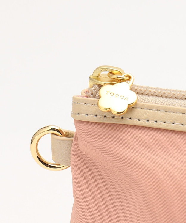 TOCCA BAMBINI 【WEB限定カラーあり / MOM雑貨】パデッドナイロンポーチ ピンク系