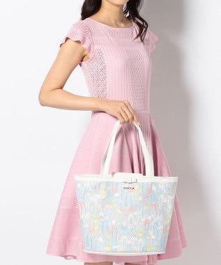 TOCCA BAMBINI 【KIDS&MOM雑貨】PETTI POINTES トートバッグ(M) ローズ系5