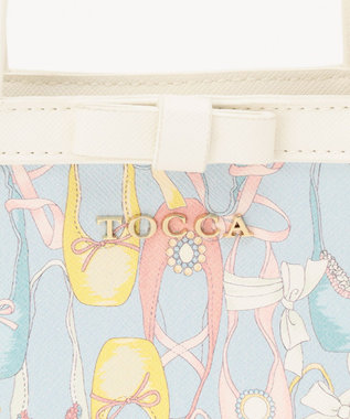 TOCCA BAMBINI 【KIDS雑貨】PETTI POINTES トートバッグ(S) ローズ系5