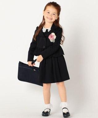 TOCCA BAMBINI 【KIDS雑貨・A4サイズOK!】トッカフラワースクールトート バッグ ローズ系