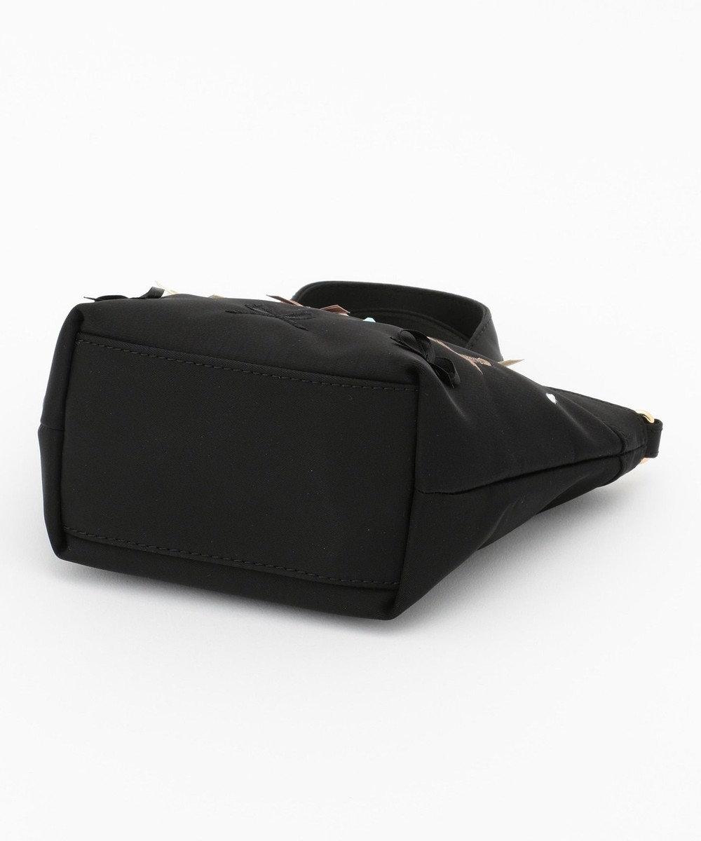 TOCCA BAMBINI 【KIDS/MOM雑貨】EMB TOCCAリボン トートバッグ(XSサイズ) ブラック系