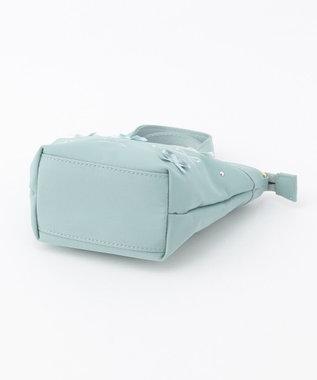 TOCCA BAMBINI 【KIDS/MOM雑貨】EMB TOCCAリボン トートバッグ(XSサイズ) スカイブルー系