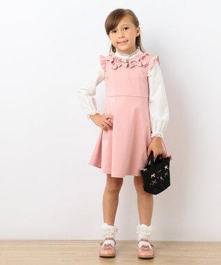 TOCCA BAMBINI 【KIDS雑貨】EMBTOCCAリボントートXS ブラック系