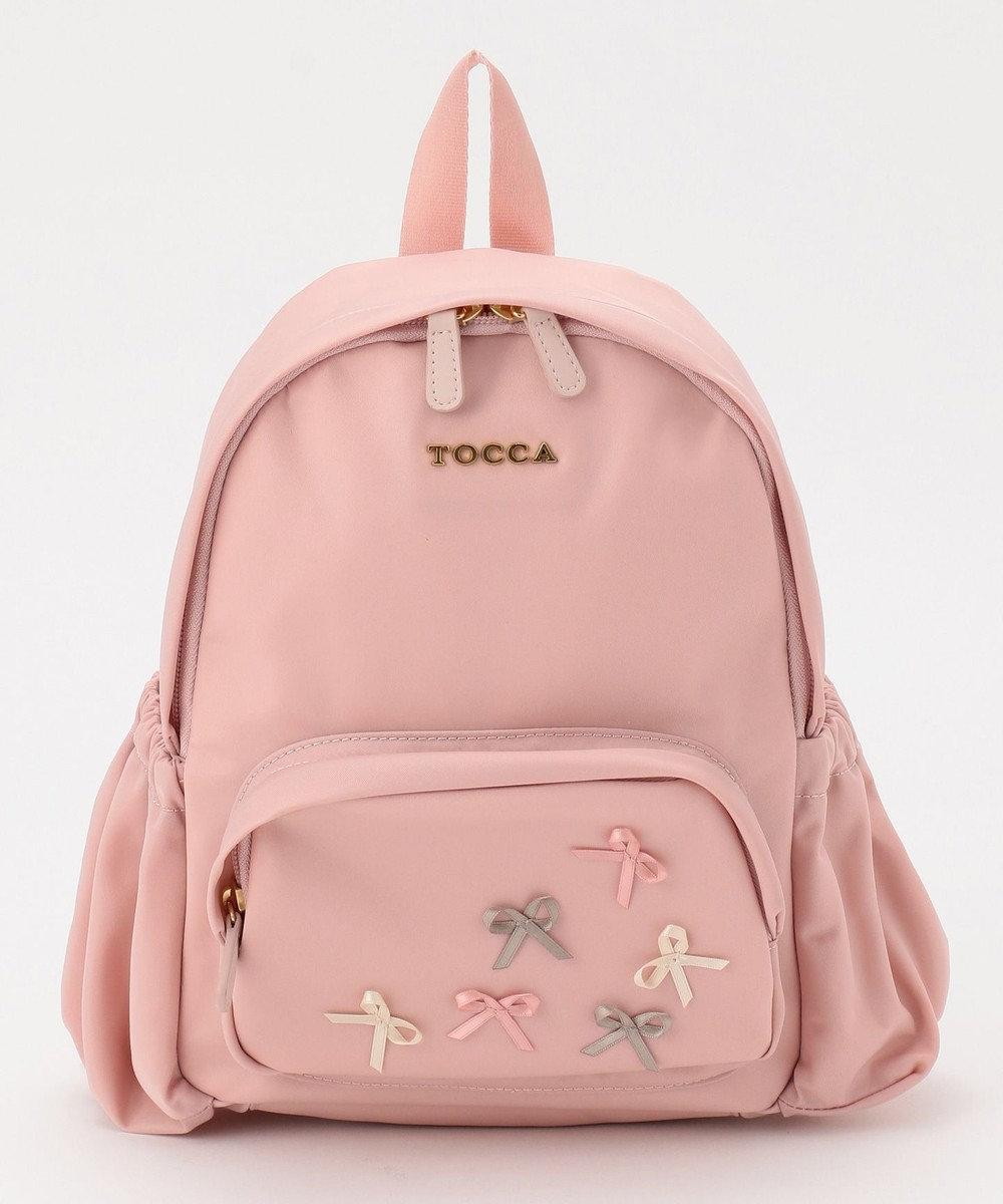 TOCCA BAMBINI 【KIDS雑貨】TOCCARIBBONバックパック (S) ローズ系