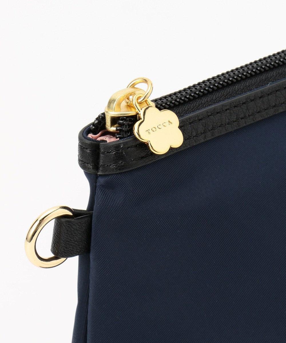 TOCCA BAMBINI 【MOM雑貨】パデッドナイロンポーチ ネイビー系