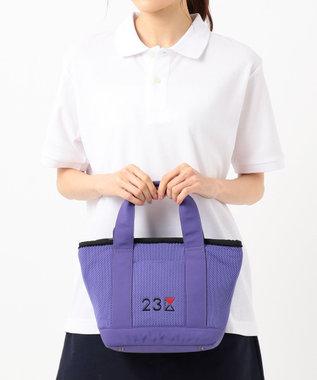 23区GOLF 【WOMEN】【IMPORT】カートバッグ パープル系