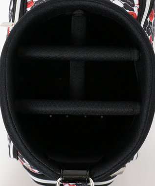23区GOLF 【WOMEN】ハート柄 キャディーバッグ ブラック系5