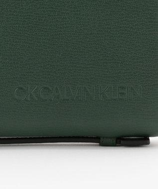CK CALVIN KLEIN MEN ロック スマートセルバッグ グリーン系