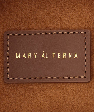 BEIGE, MARY AL TERNA / WRAPPING ショルダーバッグ S Camel