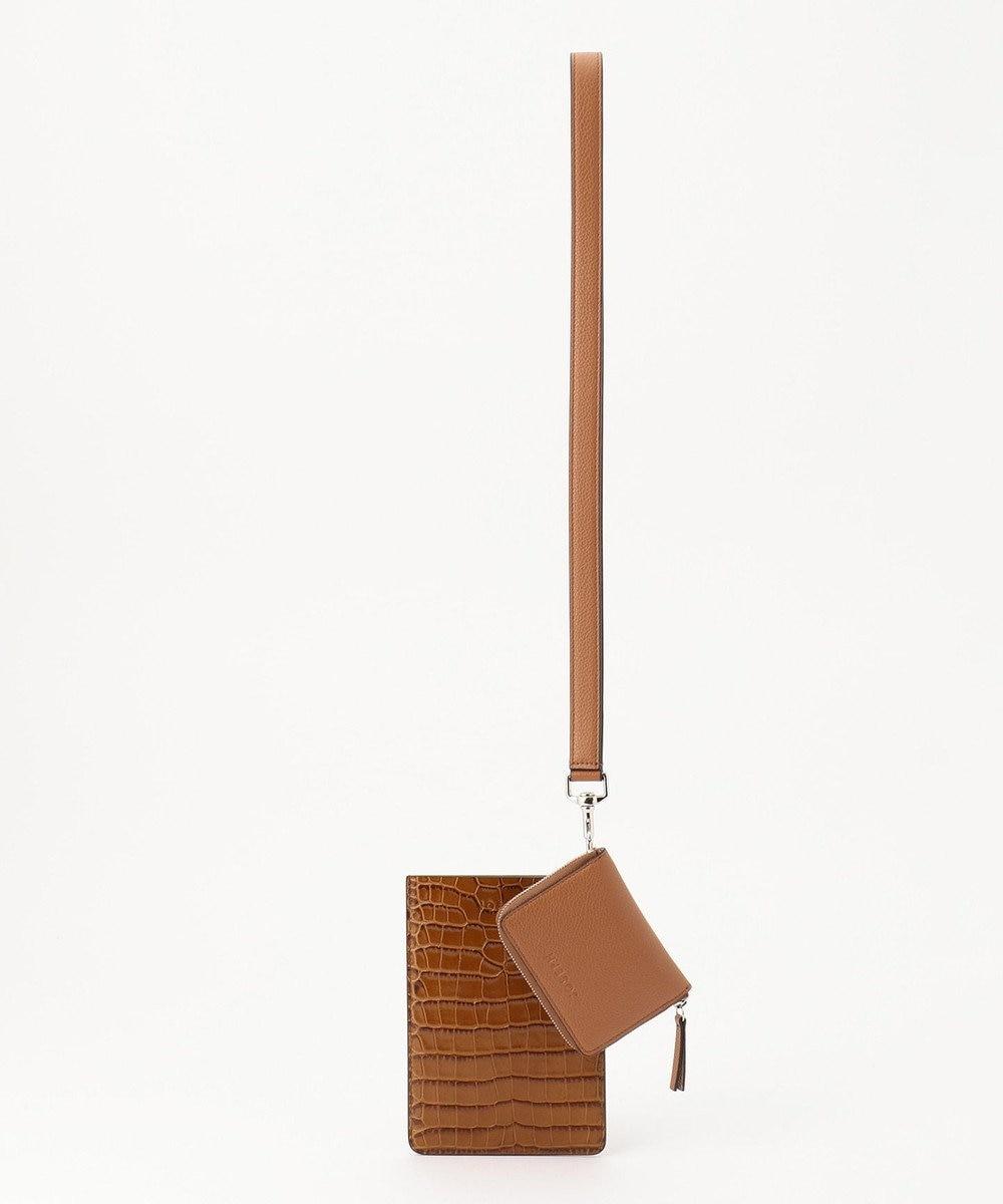 JOSEPH クラッチ / ショルダーバッグ キャメル系