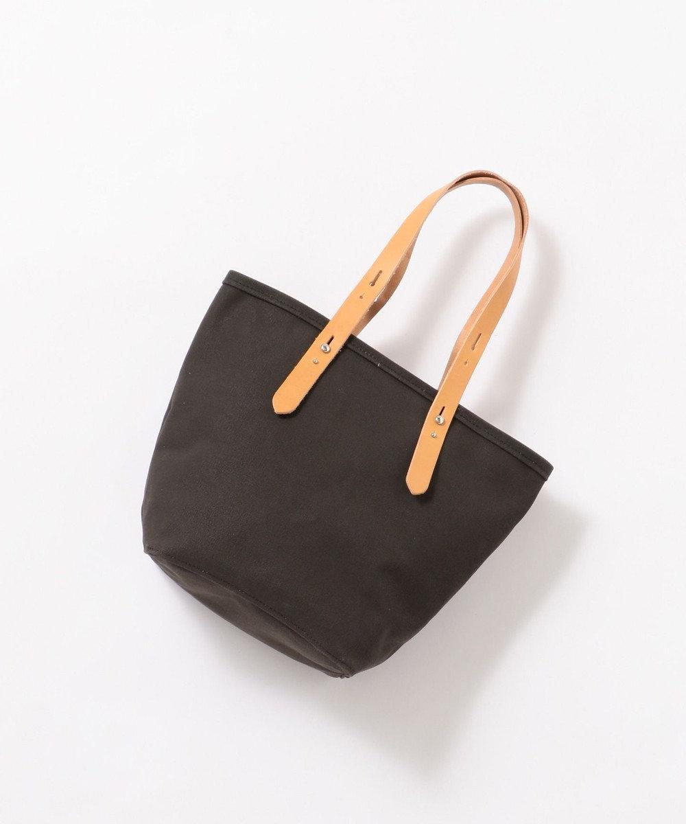 Production Labo 【日本製・倉敷産タンニン染め】キャンバス トートバッグ(中) ブラック系