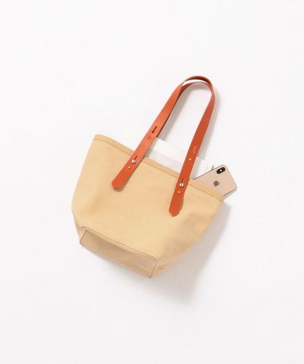 Production Labo 【日本製・倉敷産タンニン染め】キャンバス トートバッグ(小)