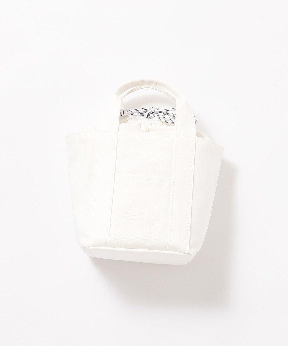 Production Labo 【日本製・倉敷染め】キャンバス  トートバッグ(小) ホワイト系