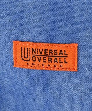 SHARE PARK MENS 〈 UNIVERSAL OVERALL 〉タイダイDELTAサコッチ ブルー系