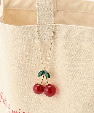 Feroux 【Ray6月号掲載】Cherryトート バッグ アイボリー系