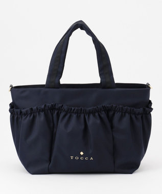 TOCCA CHOU BAG トートバッグ ネイビー系