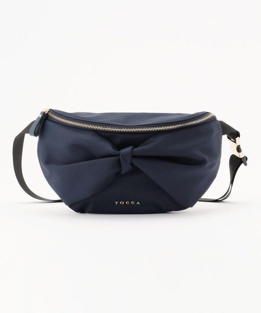 TOCCA 【再入荷&新色追加】RIBBON KNOT BODY BAG ボディバッグ ネイビー系