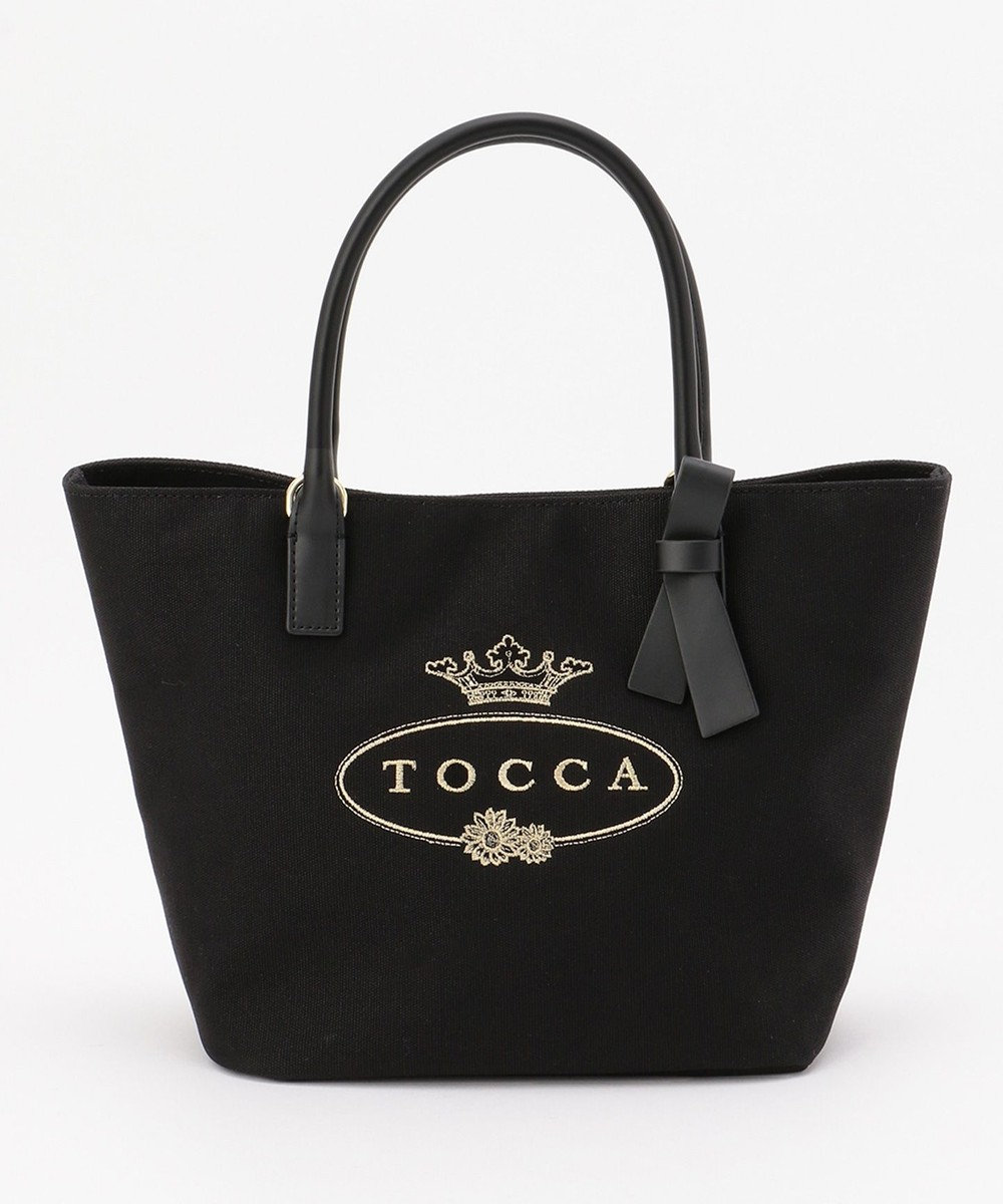 TOCCA SCENT CANVAS TOTE トートバッグ ブラック系
