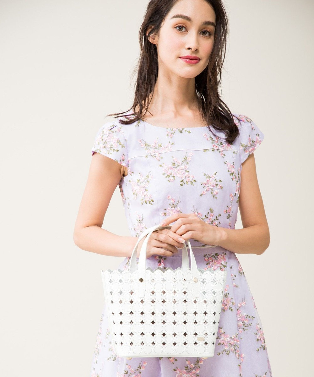 TOCCA CANDY CLOVER TOTE MINI トートバッグ ホワイト系