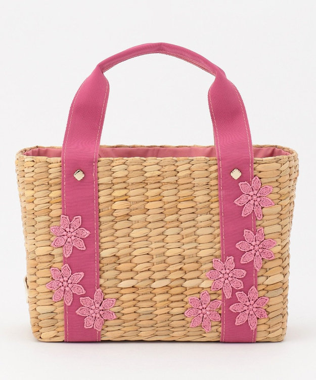TOCCA LACE WICKER TOTE かごバッグ