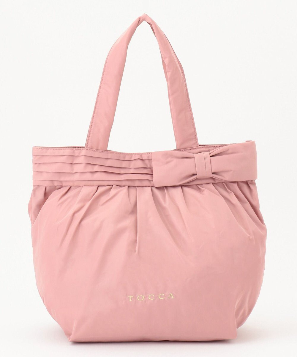 TOCCA 【再入荷!】POCKETABLE RIBBON TOTE トートバッグ ピンク系
