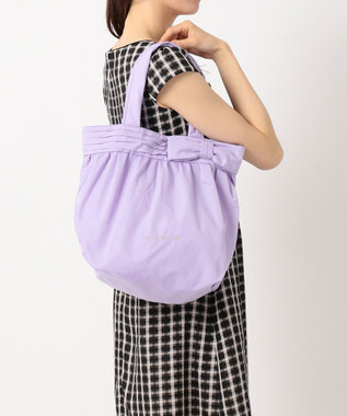 TOCCA 【再入荷!】POCKETABLE RIBBON TOTE トートバッグ ライラック系