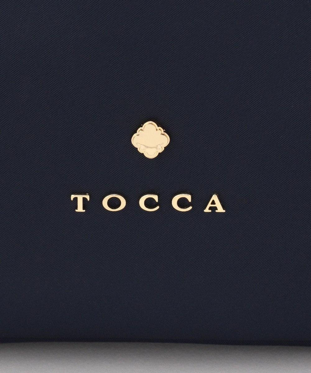 TOCCA FRILL TOTE トートバッグ ネイビー系