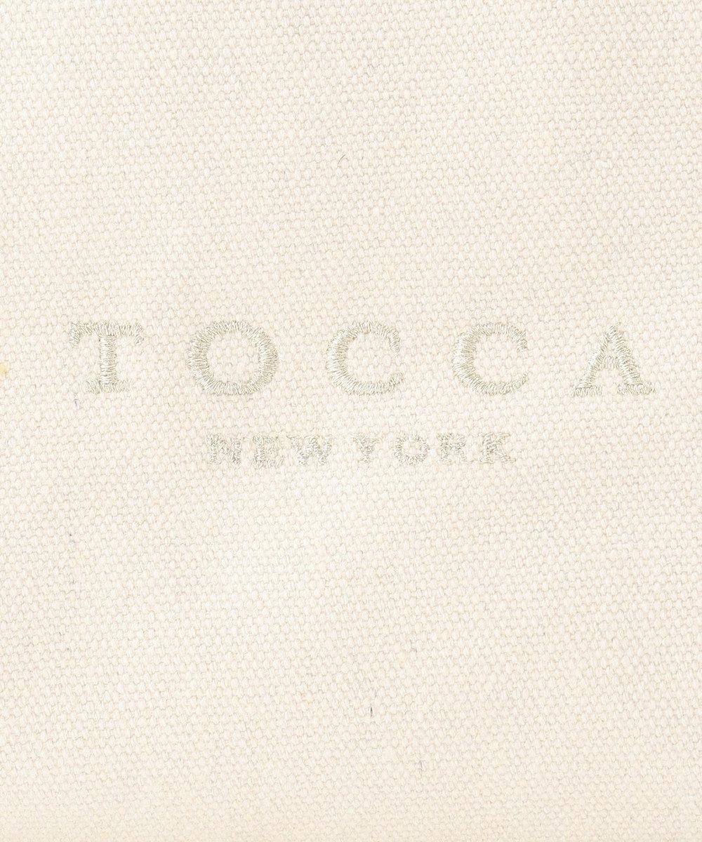 TOCCA CANVAS TOTE トートバッグ アイボリー系