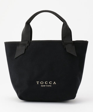 TOCCA CANVAS TOTE トートバッグ ブラック系