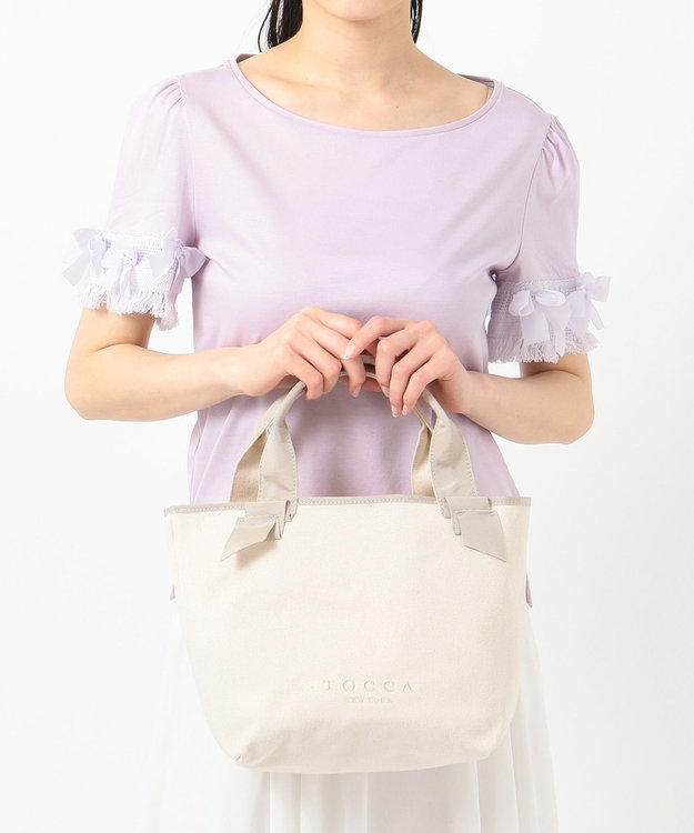 TOCCA CANVAS TOTE トートバッグ