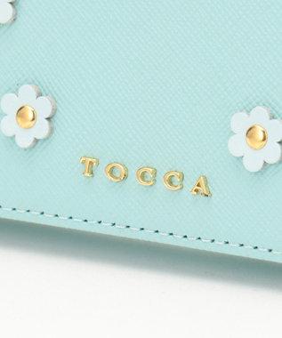 TOCCA FLOWER PETAL CROSSBODY バッグ スカイブルー系