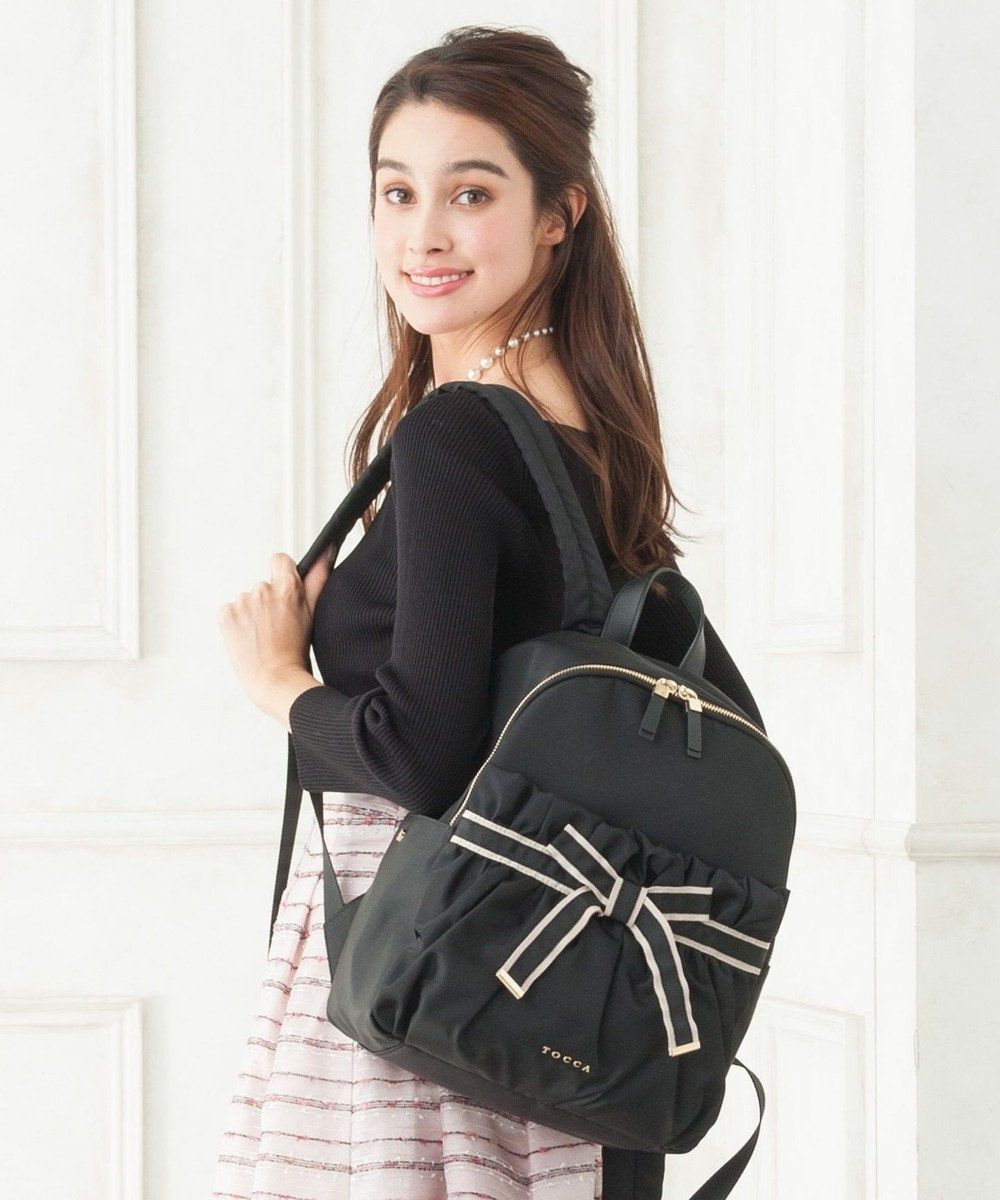 TOCCA TRAVELLING BACKPACK リュック ブラック系