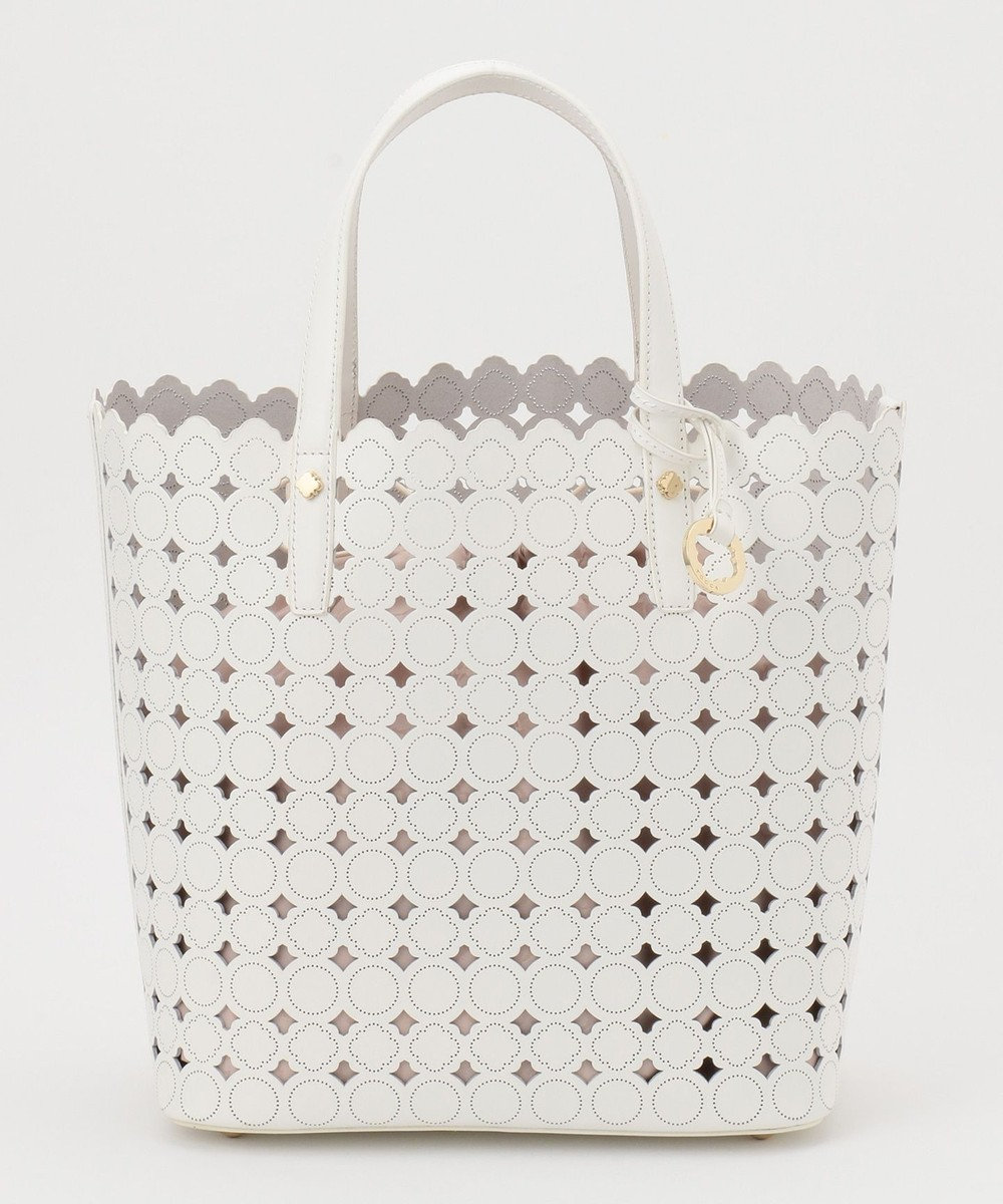 TOCCA 【BAG COLLECTION】CANDY CLOVER TOTE LARGE トートバッグ ホワイト系