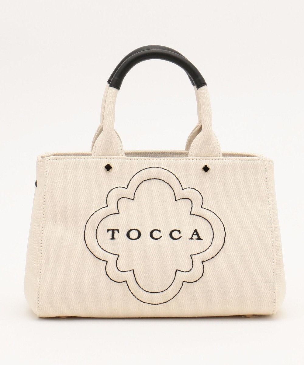 TOCCA 【BAG COLLECTION】DAILY CANVAS SMALL トートバッグ ホワイト系