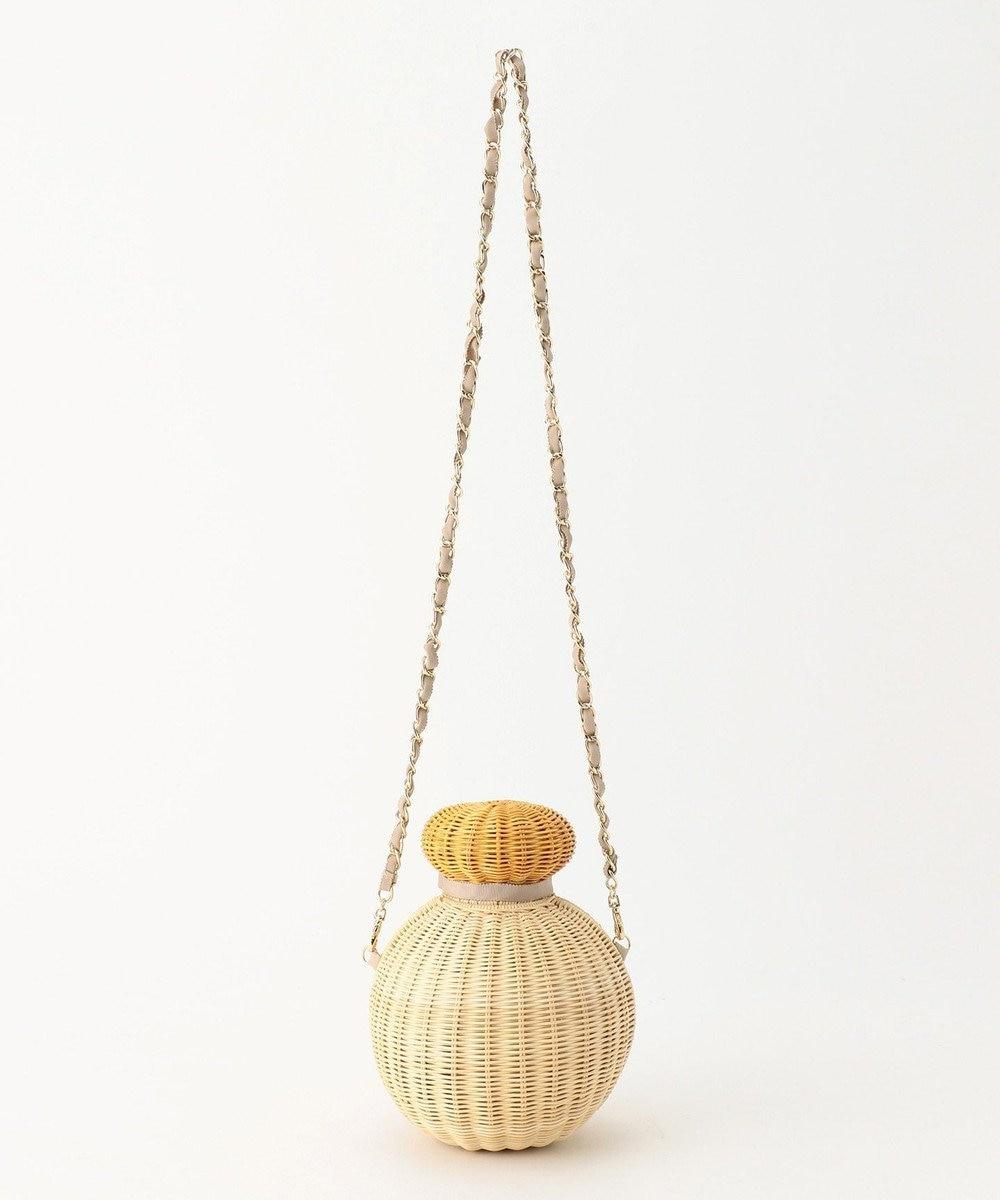 TOCCA 【BAG COLLECTION】PERFUME WICKER CROSSBODY かごバッグ ベージュ系