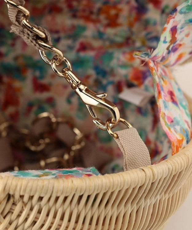TOCCA 【BAG COLLECTION】PERFUME WICKER CROSSBODY かごバッグ