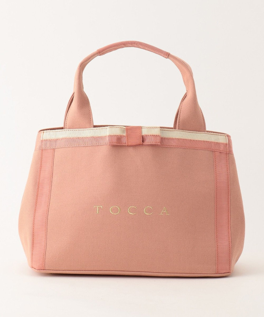 TOCCA CHELSEA CANVAS トートバッグ [限定]ピンク系