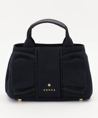 TOCCA 【WEB限定カラー有】HOLLY CANVAS SMALL バッグ ネイビー系