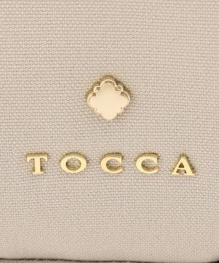 TOCCA 【WEB限定カラー有】HOLLY CANVAS SMALL バッグ ライトグレー系