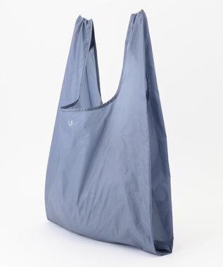 自由区 【UNFILO】POCKETABLE 超軽量 エコバッグ (大) ダルブルー系