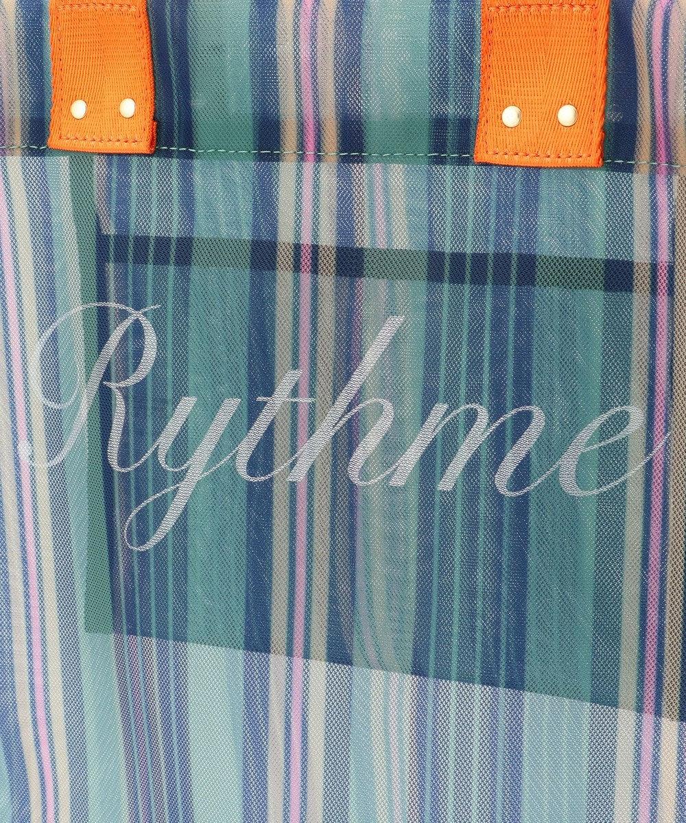 組曲 【Rythme KUMIKYOKU】ストラップメッシュトート バック ダークグリーン系1