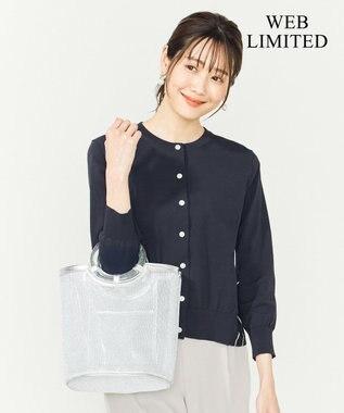組曲 【WEB限定】メタルチュールバッグ シルバー系