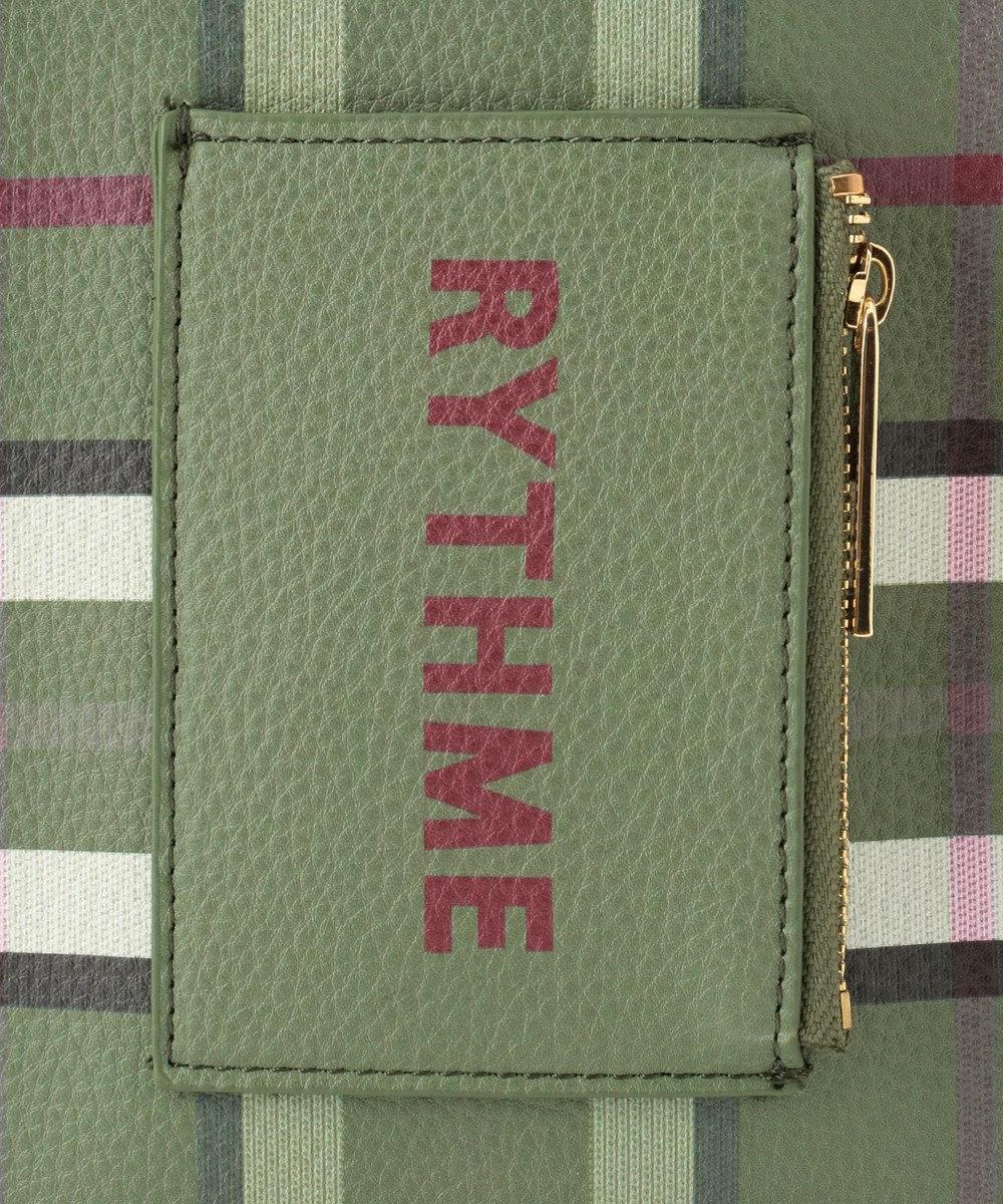 組曲 【Rythme KUMIKYOKU】スクエアミニショルダー バッグ ダークグリーン系3
